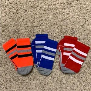 3 pairs of adidas socks